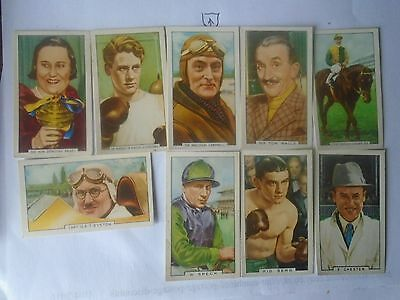 Gallaher,.  1936. Sporting Personalities ,. Full Set Of 48 Cards.