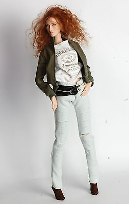 Handmade casual outfit +shoes for Modsdoll Sybarite FR16