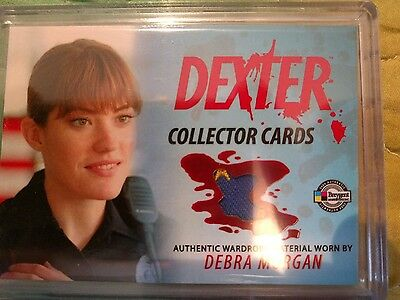 Dexter Season 1 & 2 Costume Patch Card Debra Morgan #dc8 Only 15 Made!! Rare