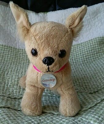 Nintendogs dog soft toy with sounds electronic pet