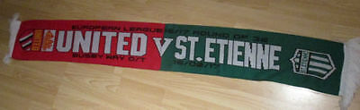 Manchester United St Etienne 2017 Colour Europa League Scarf
