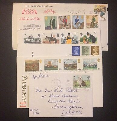 6x 1979 First Day Covers