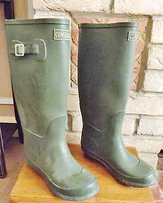 Cumbria Boots, Size 4, Very Clean, Lots Of Wear.