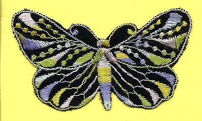 Turmac Tobacco Cigarette embroidered silk Butterfly Small C8 Silks 1