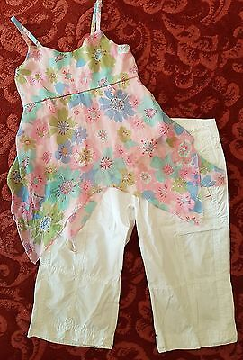 FAB Girls Top & Trousers - Good Condition - L@@K  10 - 12 yrs  ***L@@K***