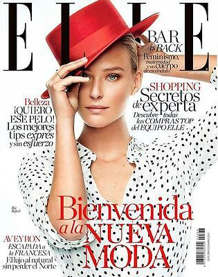 Bar Refaeli Elle Spain March 2017 Cover 18 Pages Ewan Mcgregor Michelle Williams
