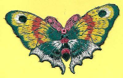 Turmac Tobacco Cigarette embroidery applique silk Butterflies Large A30 Silks 1