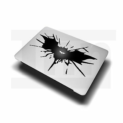 "BATMAN WINGS Apple MacBook Decal Sticker fits 11"" 13"" 15"" and 17"" models"