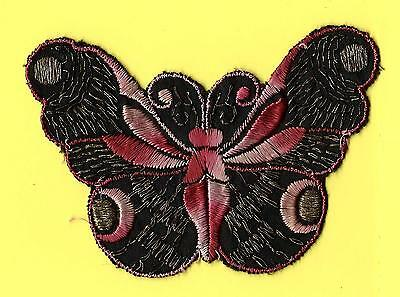 Turmac Tobacco Cigarette embroidery appliques silk Butterflies Med B66 Silks 1