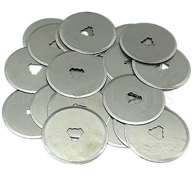 28mm Rotary Cutter Refill Blades For Sewing Fabric Paper Leather Craft Cutting