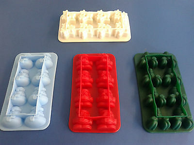 Silicone Ice Cube Freeze Tray Mould Pudding Jelly Mold Maker Kids Party Baking