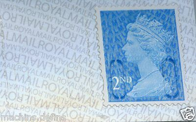 GB M16L NEW INVERTED OVERPRINT ON BACKING 2nd BUSINESS SHEET MACHIN DEFINITIVE