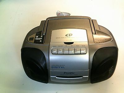 Pacific CD Cassette Player, Tested, In Good Condition, Trusted Ebay Shop