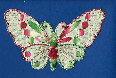 Turmac Tobacco Cigarette embroidery appliques silk Butterflies Small C45 Silks 1