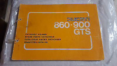 Ducati 860-900GTS Spare Parts Catalogue