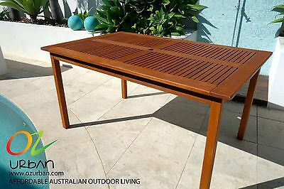 Meranti Timber Table: Brand New Rectangle Outdoor Table- Modern Design *ON SALE*
