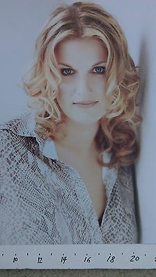 """TRISHA YEARWOOD, """"SONGBOOK, A COLLECTION OF HITS"""" quadruple poster flat"""