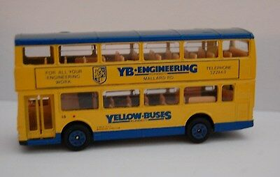 Yellow Buses Bournemouth Code 3 Model Bus.