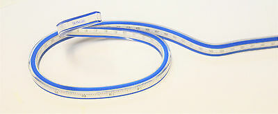 50CM Flexible Curve Drafting Drawing Bendy Rubber French Curve Ruler Flexi