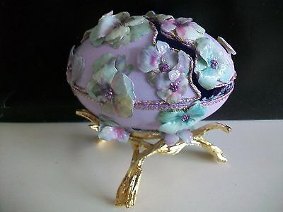 Hand decorated real goose egg/collector eggs