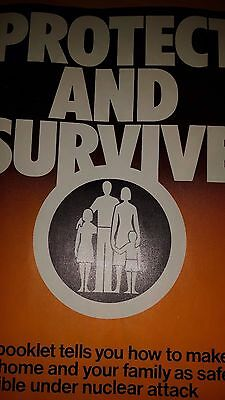 Hmso Protect And Survive Booklet - Isbn 0 11 340728 9