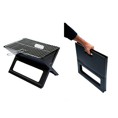 The Original Notebook Folding Grill - Portable BBQ For Camping / Beach / Home