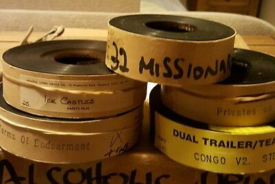 ****rare**** Selection Of 5 35Mm Trailers