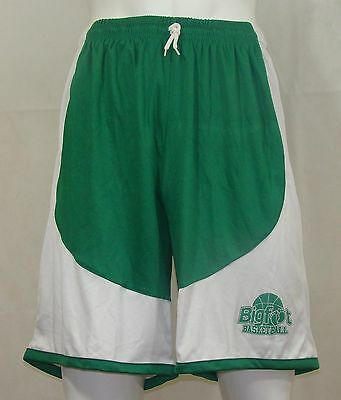 Basketball Shorts / Green White FREE P & P - priced to clear