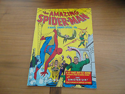 The Amazing Spider-Man. A Marvel Summer Special.1980. Marvel Comics.