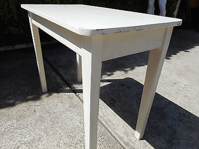 Vintage  -  Provincial White  -  Timber Preparation Table