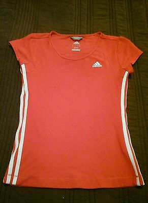 Ladies Adidas Climalite Fitness Top Size 12 Gym Running Yoga
