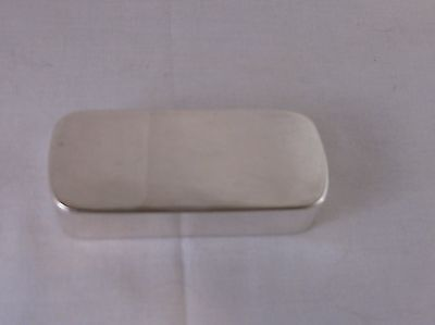 ANTIQUE STERLING SILVER SNUFF BOX by PHIPPS & ROBINSON, LONDON, 1794