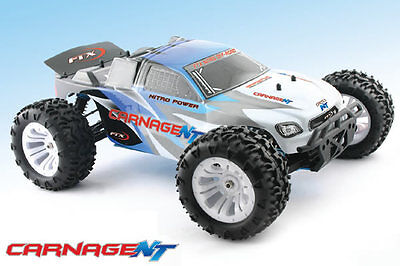 FTX Carnage NT 1/10th Scale RTR 4WD Nitro Truck - Amazing Price for a NITRO car!