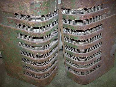 John Deere Tractor A, Grill,grilles Pair