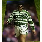 Celtic JOHN COLLINS original hand signed 12x8 photo with COA.
