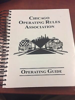 Chicago Operating Rules Association (CORA) Operating Guide - August 1st, 1997