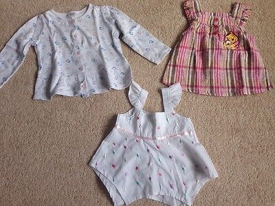 Bundle Of Girls Tops 12-18 Months