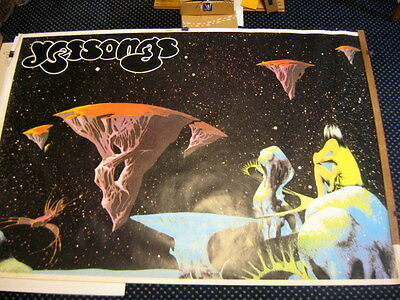 RARE!! VTG 1989 YES Yessongs Rock Tour Concert Promo Store Poster 5 FT x 3FT 5IN