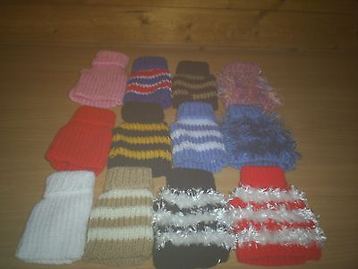 """Job Lot /wholesale / Puppy Pack  12 Dog Jumpers  4"""" Teacup Chihuahua/ Yorkie Pup"""