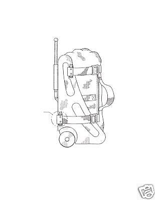 Integrated Child Car Seat and Luggage Patent with Video