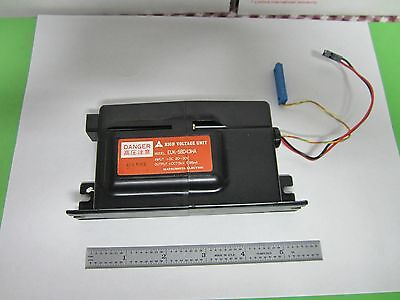 High Voltage Power Supply Laser Optics Japan As Is Bin#47
