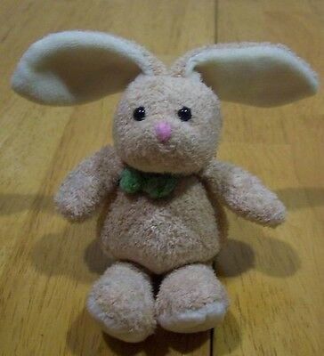 "TY Basket Beanies HOPSON BUNNY 5"" Plush Stuffed Animal 2007"