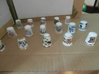 Thimbles  Job Lot Of Mixed    As Shown In Picture   No Paperwork  Lot 3