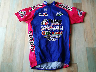 Maillot Cycliste Noret Eccr Craon Renaze Taille M/3 Tbe