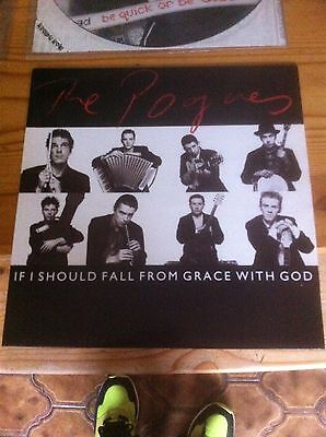 The Pogues - If I Should Fall - 4 trk EP - New Unplayed