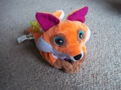 Animal Jam Sidekix Reversible To A Ball Fox Toy With Magnetic Arms. *No Code*
