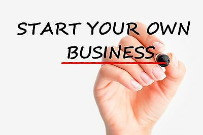 Set Up A New Business Details for Sale - A Guide - Work for Yourself,..#£$~