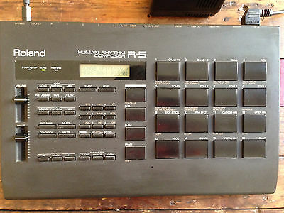 ROLAND R5 Drum machine separate outputs R-5 Pads