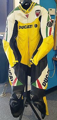 Dainese Ducati Corse Leather Suit - One Piece - Size EUR 60 / US 50