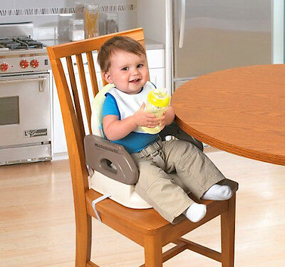 Booster Chair Baby Toddler Compact Highchair Portable Folding Feeding Seat New